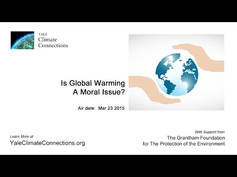 Is Global Warming a Moral Issue?