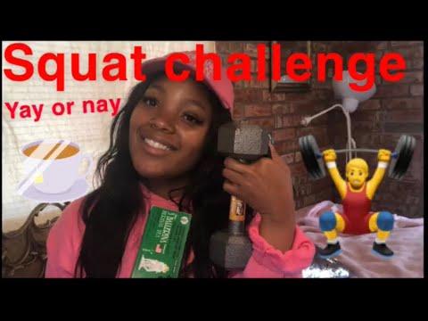 REAL RESULTS) Keyshia Ka'oir waist eraser/30 day squat challenge