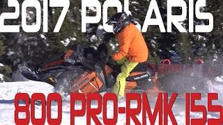 STV 2017 Polaris 800 PRO-RMK 155