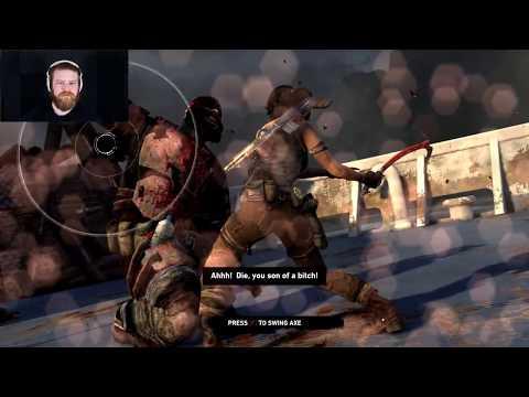 Tomb Raider Part 19 - Killing Boris the Bear (disclaimer, not actually a bear)