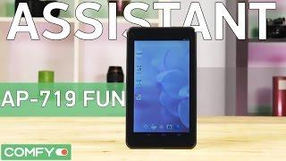 Assistant AP-719 FUN - найдоступніший android-планшет - демонстрація Відео