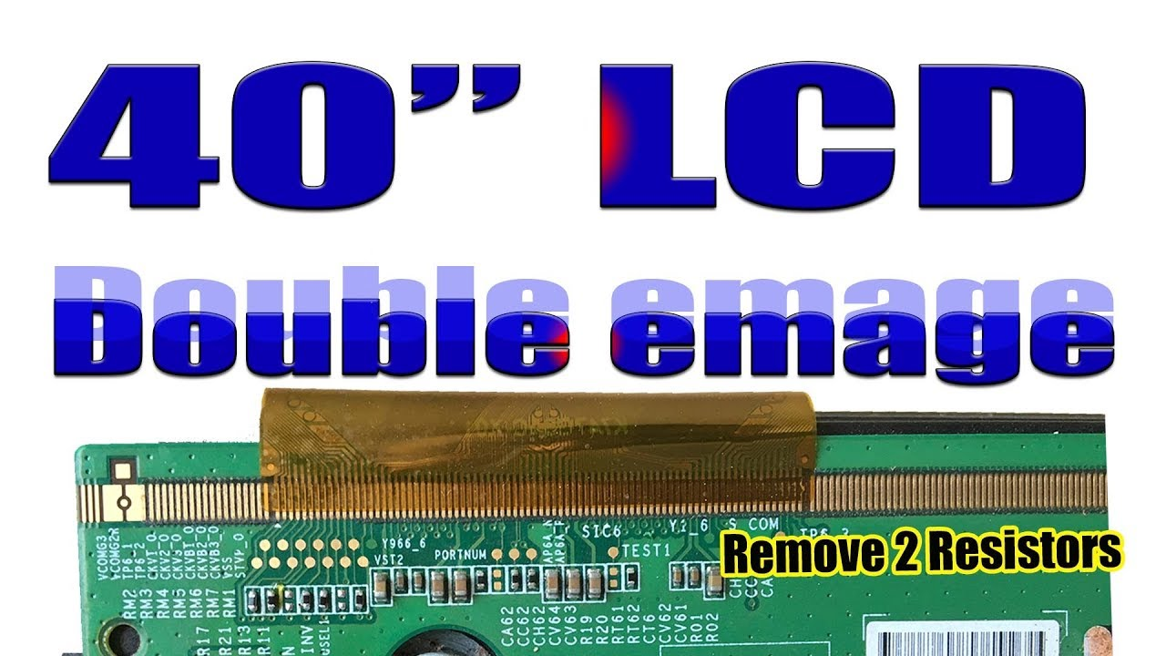 Samsung Led Tv Double Picture Display Picture Jumping By How To