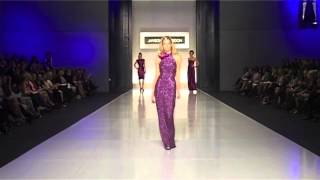 Mindy Kwanten closing Spring Summer 08' with Jennifer Hawkins 'Miss Universe'