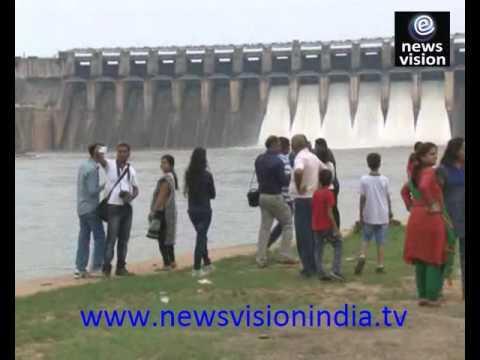 Bargi Dam Jabalpur Gates Opened