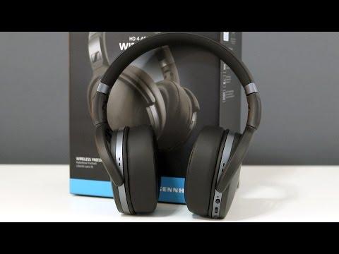 Sennheiser HD 4 40BT Wireless Headphones Review - YouTube