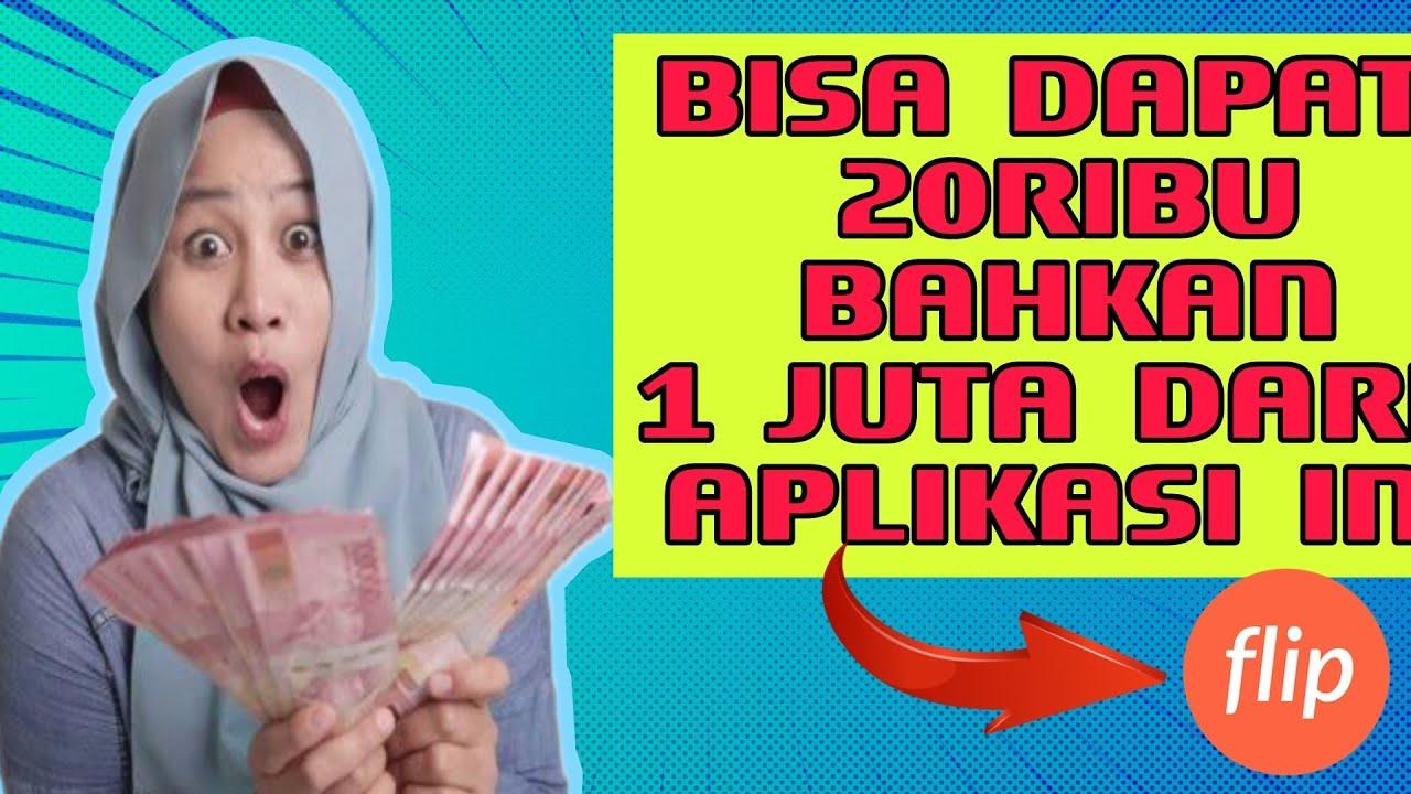 EVENT TERBARU APLIKASI FLIP UNDANG TEMAN DAPAT 20.000 ...