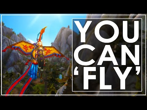 WoW Legion: Glide Massive Distances With These 3 Items - You Can Almost Fly!