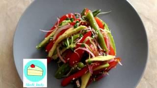 овощной салат с mini green (вегетарианцам, веганам)