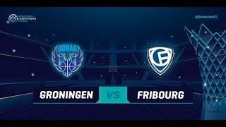 LIVE 🔴 - Donar Groningen v Fribourg Olympic - Qualification Round 2 - Basketball Champions League