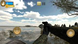 Duck Hunter Pro 3D ios gameplay (iPhone/iPodTouch/iPad)