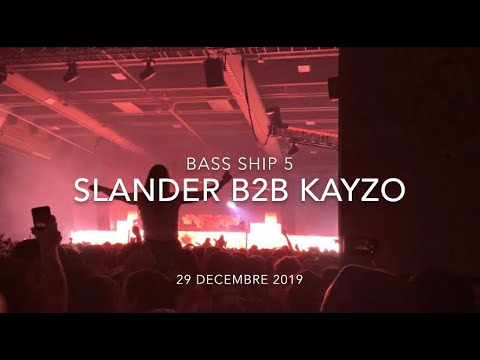 SLANDER B2B KAYZO Live - @ BASS SHIP 5 In Montreal, Canada (Dec. 29 2019)