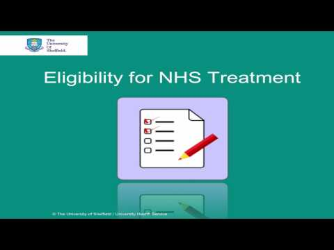 Eligibility for NHS Treatment  (Overseas Visitors)
