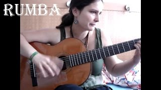 Re: Flamenco - Rumba - guitar solo with tab