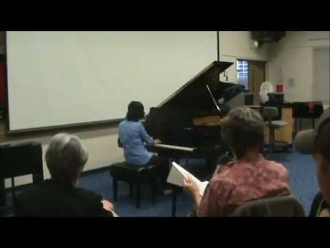Danielle J Keaton  My Piano Audition