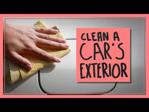 How to Clean a Car's Exterior