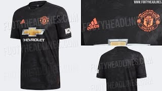 222ca770b64 Manchester United 2019 20 Third Kit Leaked