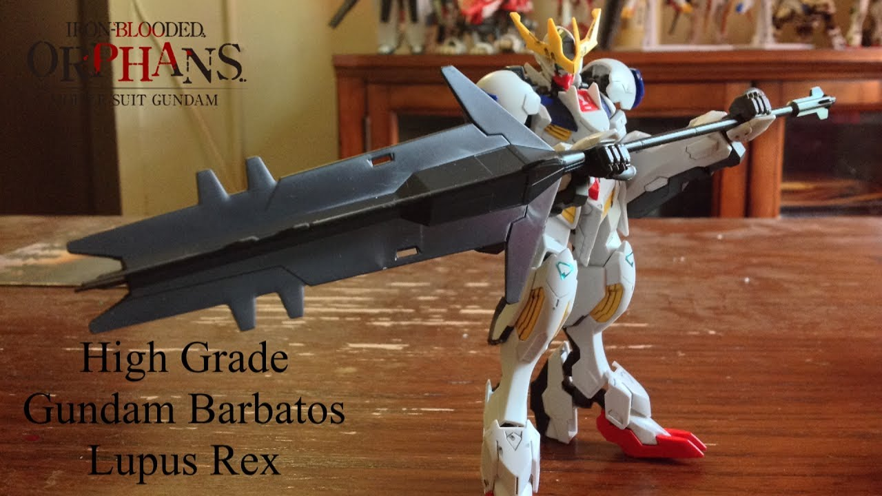High Grade Barbatos Lupus Rex Review Youtube