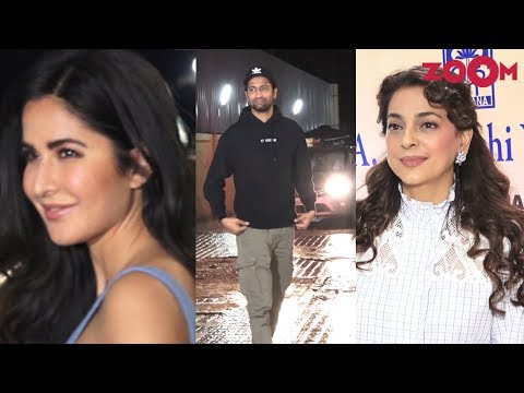 Katrina Kaif, Vicky Kaushal & other B-Town celebs at The Zoya Factor screening | Juhi Chawla spotted