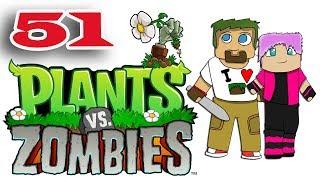 ч.51 Растения против Зомби с кошкой - Выживание: Туман (сложно)
