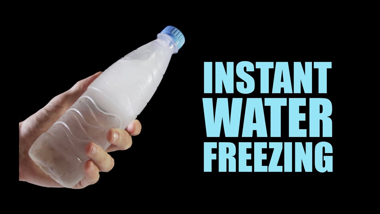instant water freezing 5 amazing tricks youtube