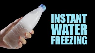 5 Amazing Water Experiments & Tricks - Instant Water Freezing (by Mr. Hacker)