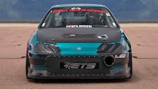 1200hp HONDA sets New FWD 1/2 MILE RECORD! (210+ mph!)