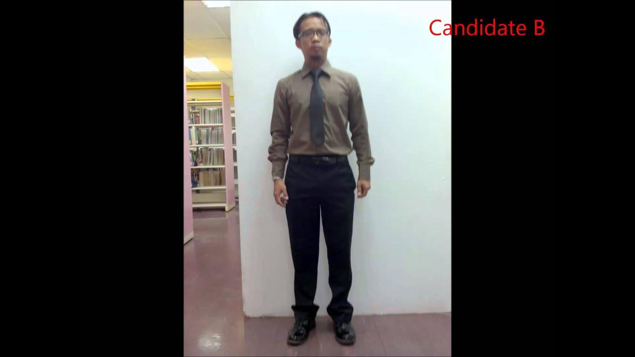 Dress Interview Attire for Men