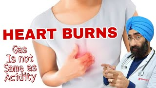 HEART BURNS | ACIDITY is not GAS | Explained Dr.Education (Eng)