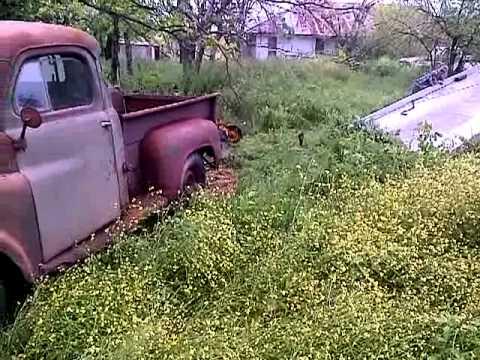 1953 Dodge Truck on Flatbed - YouTube  1953 Dodge Flatbed Truck
