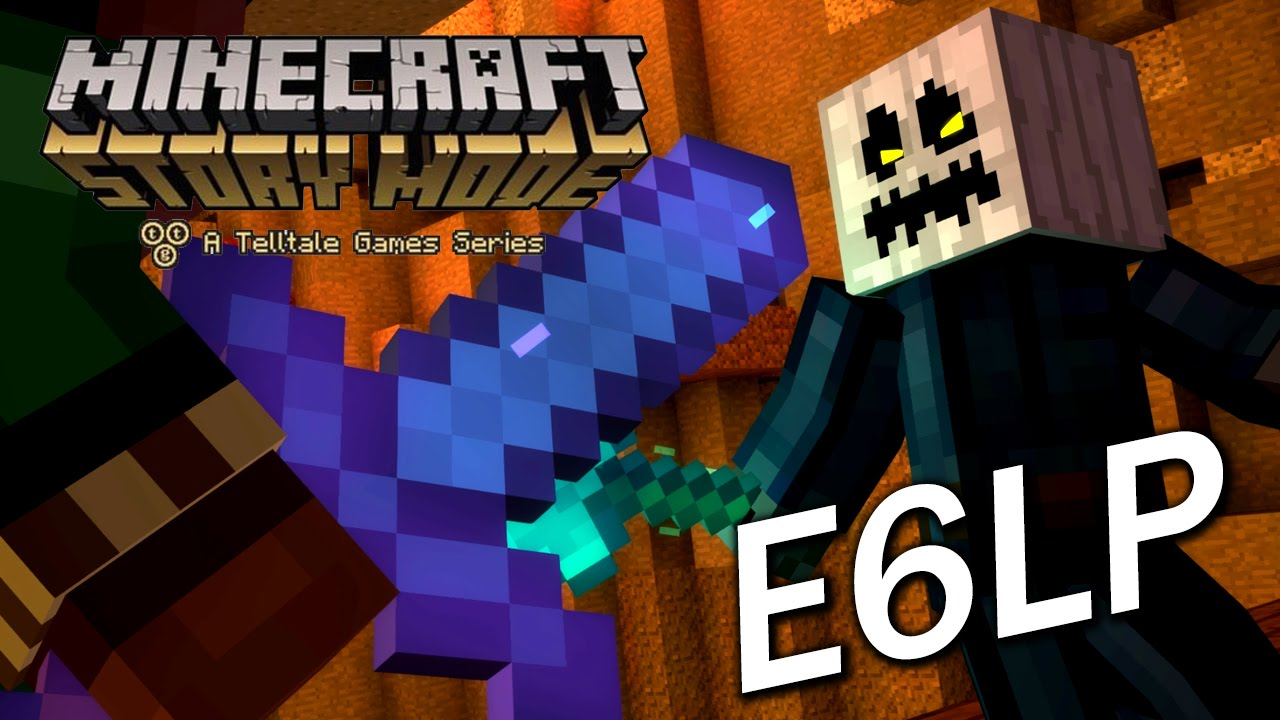 Minecraft Story Mode Episode 6 Last Part : 白南瓜頭竟然是!!! - YouTube