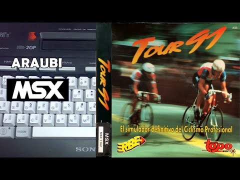 Tour 91 (Topo Soft, 1991) MSX [095] Walkthrough Comentado