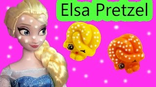 Disney Frozen Queen Elsa Pretzel Shopkins Barbie Doll Toy House Playset Video