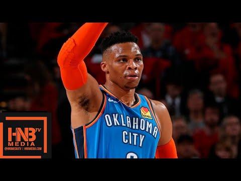 Oklahoma City Thunder vs Portland Trail Blazers - Game 2 - Full Game Highlights | 2019 NBA Playoffs