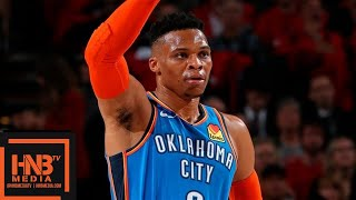 Oklahoma City Thunder vs Portland Trail Blazers - Game 2 - Full Game Highlights | 2019 NBA Playoffs