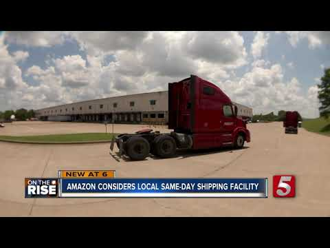 Amazon submits plans for same-day shipping fulfillment center near BNA