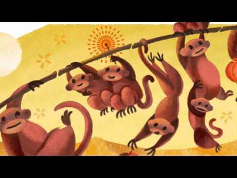 Lunar New Year 2016 Google Doodle