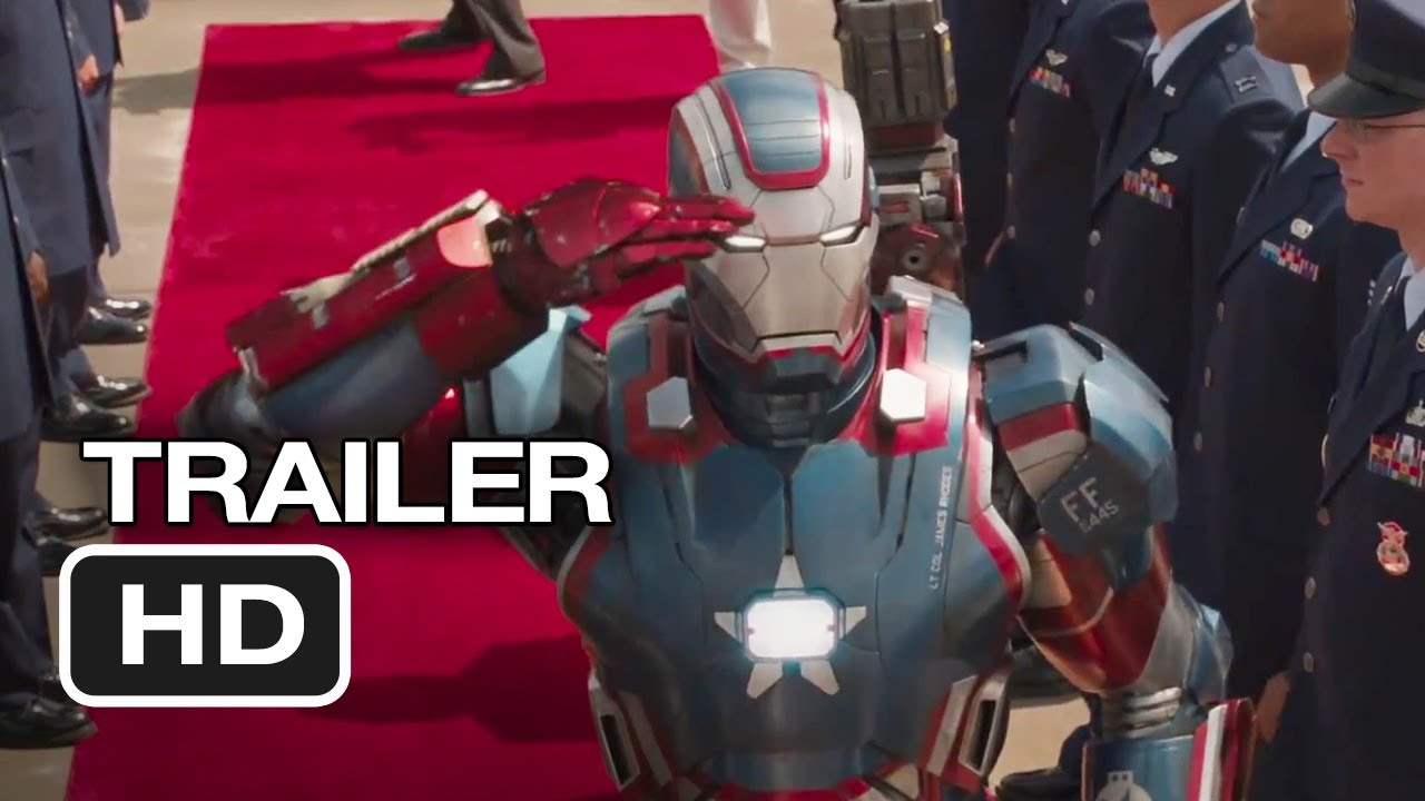 Iron Man 3 Full Movie Official Trailer HD Online