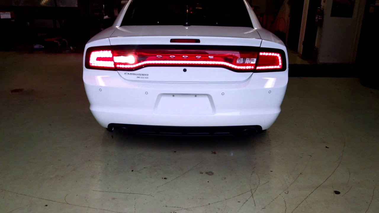 14 Dodge Charger Tail Light Flashers Youtube