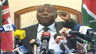 Labour CS 'Retires' Atwoli, Mugo From NSSF Board