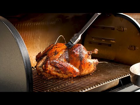 Roast Turkey Recipe on the Traeger Timberline Wood Fired Pellet Grill | Holiday Recipes on the Grill