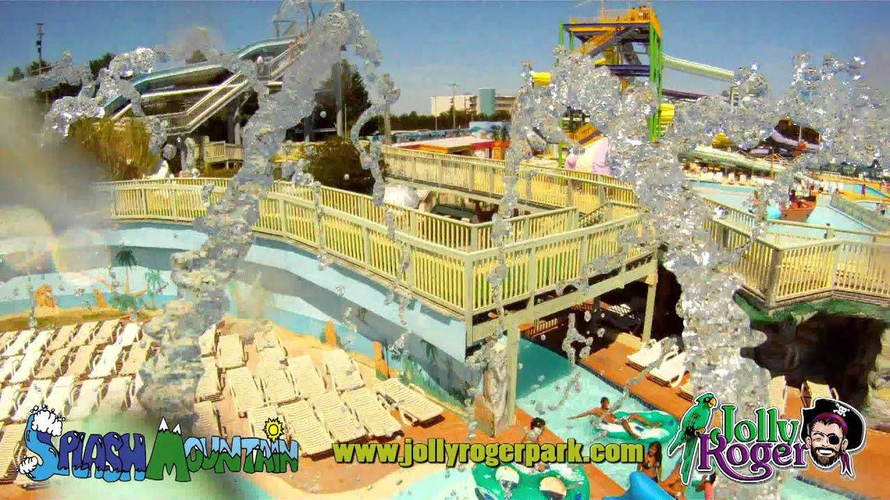 Jolly Roger Amusement Parks - 'Splash Mountain' - YouTube