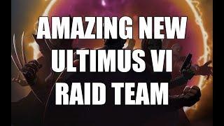 Amazing New Ultimus VI Raid Team - Marvel Strike Force