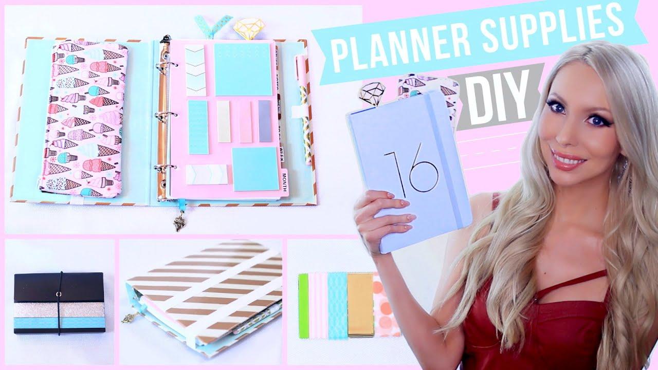 DIY Planner Supplies  YouTube
