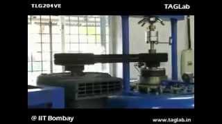 Kaplan Turbine Test Rig TLG204VE @ IIT Bombay