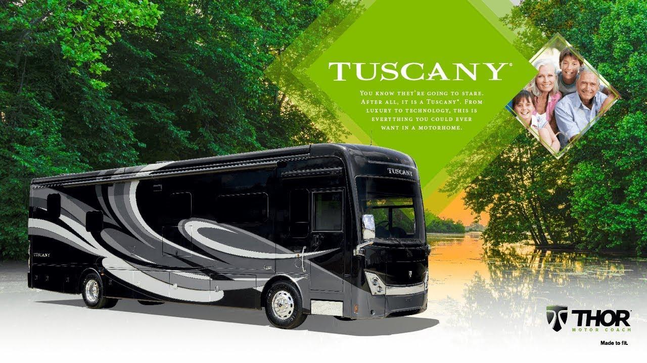 Tuscany Class A Diesel Luxury Motorhome | Thor Motor Coach