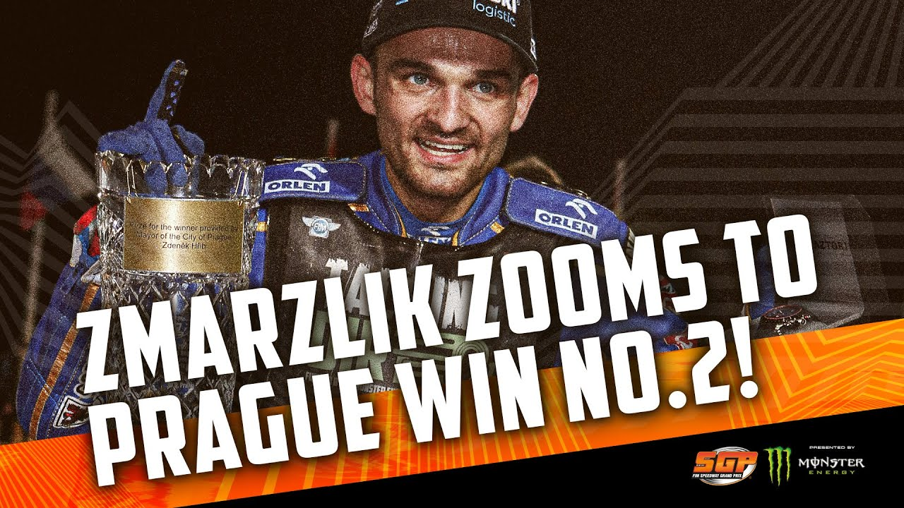 Zmarzlik zooms to Prague win No.2! | FIM Speedway Grand Prix