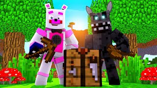 Twisted Wolf and Funtime Freddy FNAF Survival! Minecraft FNAF Roleplay