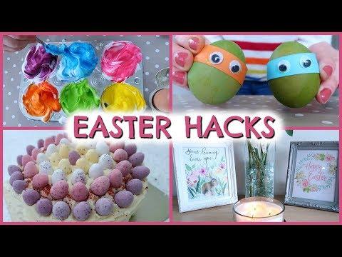 EASTER HACKS & DECOR IDEAS  |  DIY EASTER DECORATIONS  |  EMILY NORRIS ad
