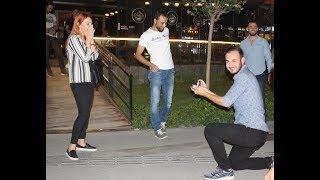 Nevşehir'de Muhteşem Evlilik Teklifi