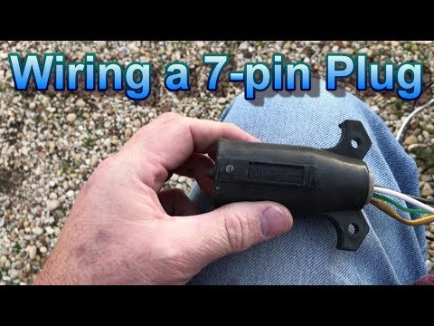 Wiring a 7 Pin Trailer Plug